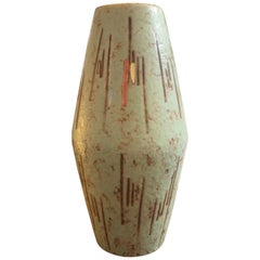 Scheurich Modernist Ceramic Vase Made in Germany in the 1960