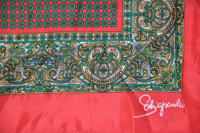 Schiaparelli Signature Red Border