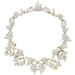 Schlumberger 46.25 Carat Diamond Vine Necklace