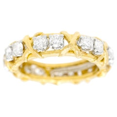 Schlumberger for Tiffany & Co. 16 Stone Ring