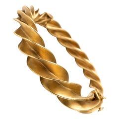 Schlumberger For Tiffany Crazy Twist Bracelet