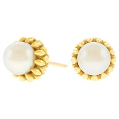 Schlumberger for Tiffany & Co. Gold Acorn Earrings