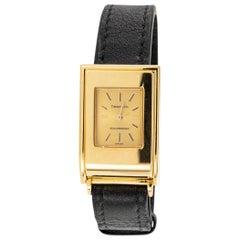 Schlumberger Tiffany & Co. Yellow Gold Wristwatch