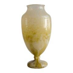 Schneider Vase Glass Marbled