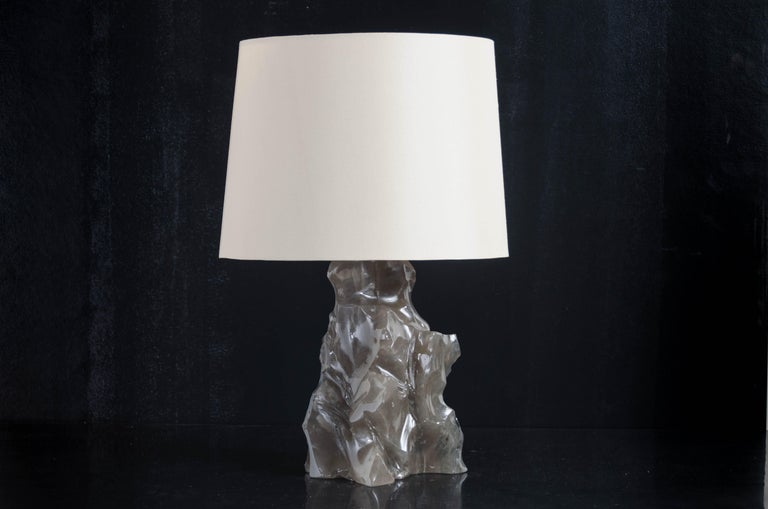 Scholar rock lamp