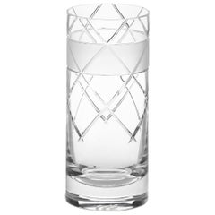 Scholten & Baijings Handmade Irish Crystal High Glass Elements Series CUT NO IV
