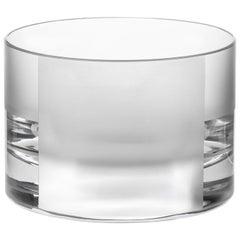 Scholten & Baijings Handmade Irish Crystal Low Glass 'Elements' Series CUT NO. I