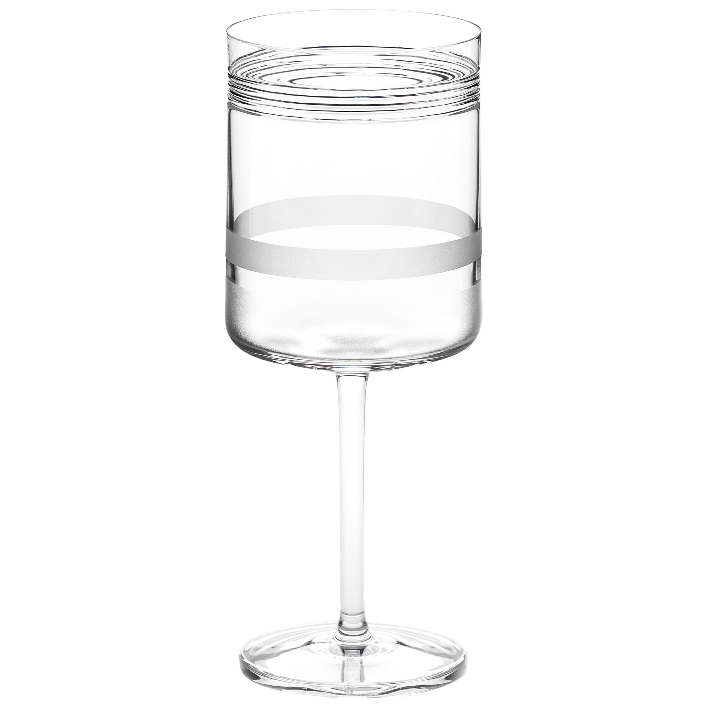 Scholten & Baijings Handmade Irish Crystal Red Wine Glass 'Elements' Series
