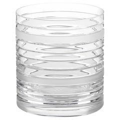 Scholten & Baijings Handmade Irish Crystal Whiskey Glass Elements Cut No. V