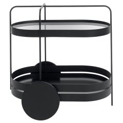 Schonbuch Black Grace Trolley by Sebastian Herkner
