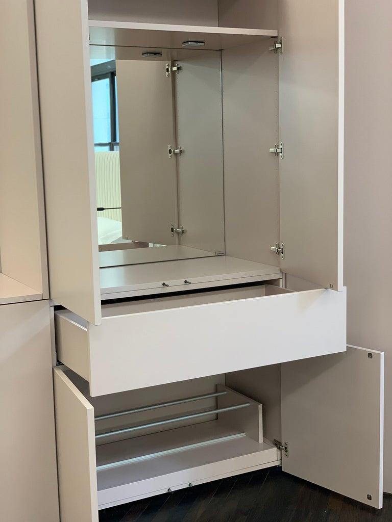 Modern Schonbuch Dusty Rose Cabin Storage System For Sale