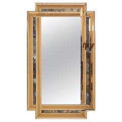 Schöninger Bonze Gold Cut Wall Mirror