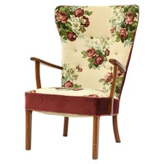 Schubell & Madsen Danish Highback Chair