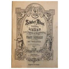 Schubert Album: Sammlung der Lieder fur eine Singstimme mit Pianofortebegleitung