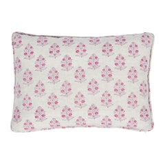 Schumacher Aditi Block Print Pillow