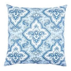 "Schumacher Amalia Medallion 22"" Pillow"