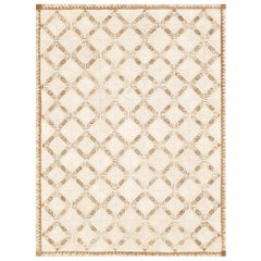 Schumacher Amare Area Rug in Handwoven Abaca by Patterson Flynn Martin