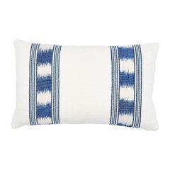 Schumacher Banyan Ikat Pillow