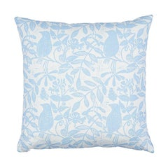 Schumacher Bird & Bee + Fern Pillow