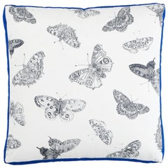 "Schumacher Burnell Butterfly 18"" Pillow"