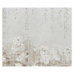 Schumacher by Colette Cosentino Chatoant Wallpaper Mural in Blush