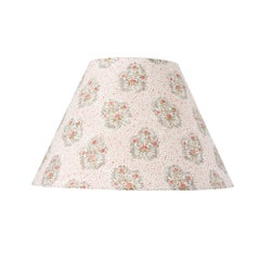 Schumacher Cassis Floral Rouge Linen Lampshade