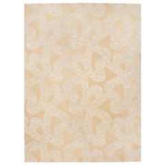 Schumacher Chantilly Lace Area Rug in Wool and Spun Silk, Patterson Flynn Martin