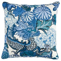 "Schumacher Chiang Mai Dragon 22"" Pillow"