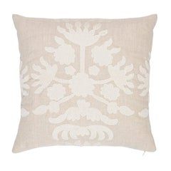 Schumacher Cybele Embroidery Pillow