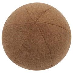 Schumacher Dixon Mohair Weave Vicuna Sphere Pillow
