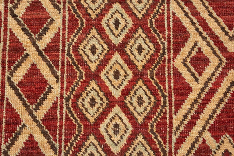Contemporary Schumacher Donia Area Rug in Hand-Knotted Wool Silk, Patterson Flynn Martin For Sale