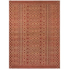 Schumacher Donia Area Rug in Hand-Knotted Wool Silk, Patterson Flynn Martin