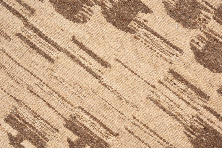 Indian Schumacher Dorp Area Rug in Handwoven Wool, Patterson Flynn Martin For Sale
