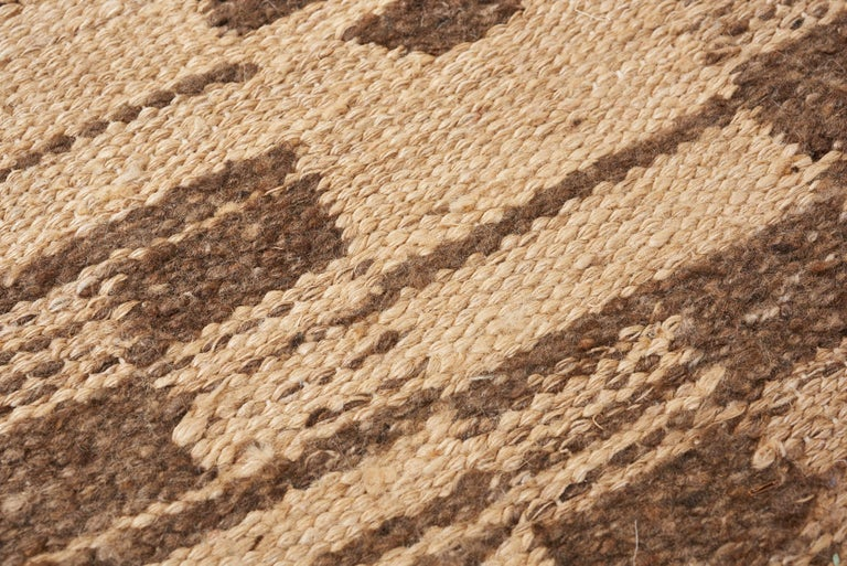 Hand-Woven Schumacher Dorp Area Rug in Handwoven Wool, Patterson Flynn Martin For Sale