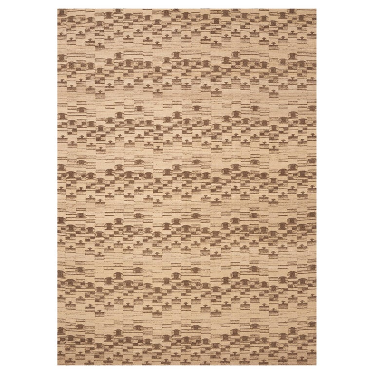 Schumacher Dorp Area Rug in Handwoven Wool, Patterson Flynn Martin For Sale