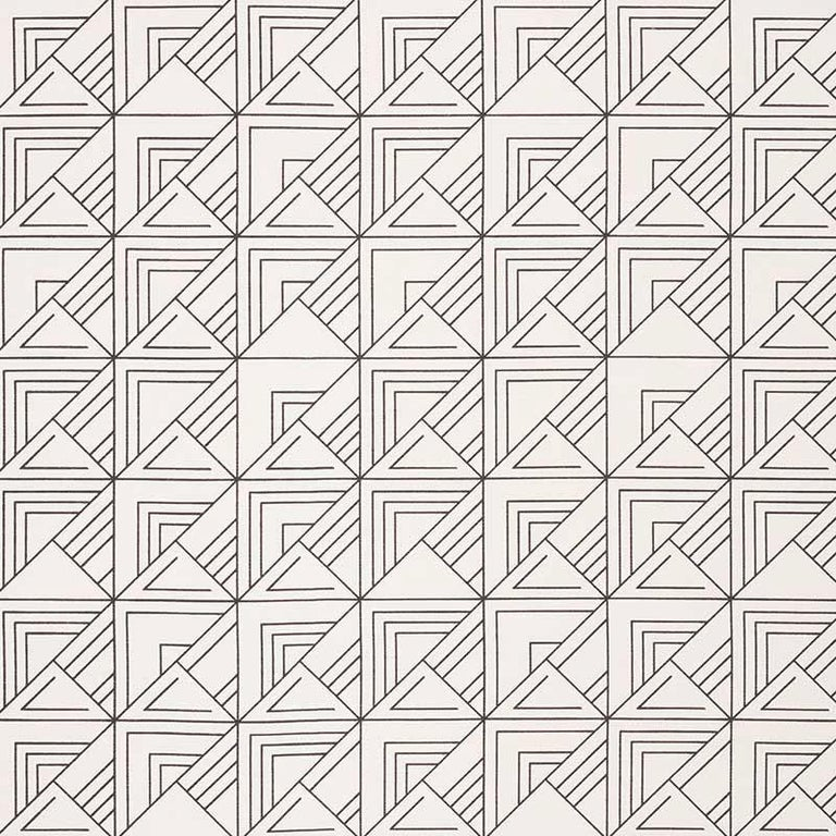 Based on one of Frank Lloyd Wright's original drawings, this geometric pattern has the indelible signature of the master architect. Featured as decorative accents, this midcentury design is sure to elevate any interior or setting with Classic &
