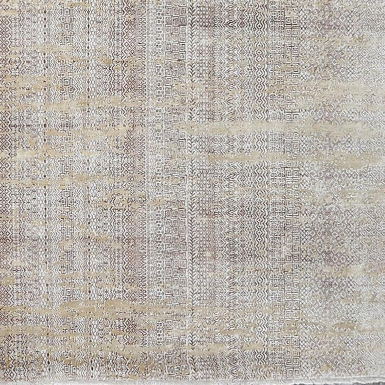 Indian Schumacher Fujisan Area Rug in Hand-Knotted Wool by Patterson Flynn Martin For Sale