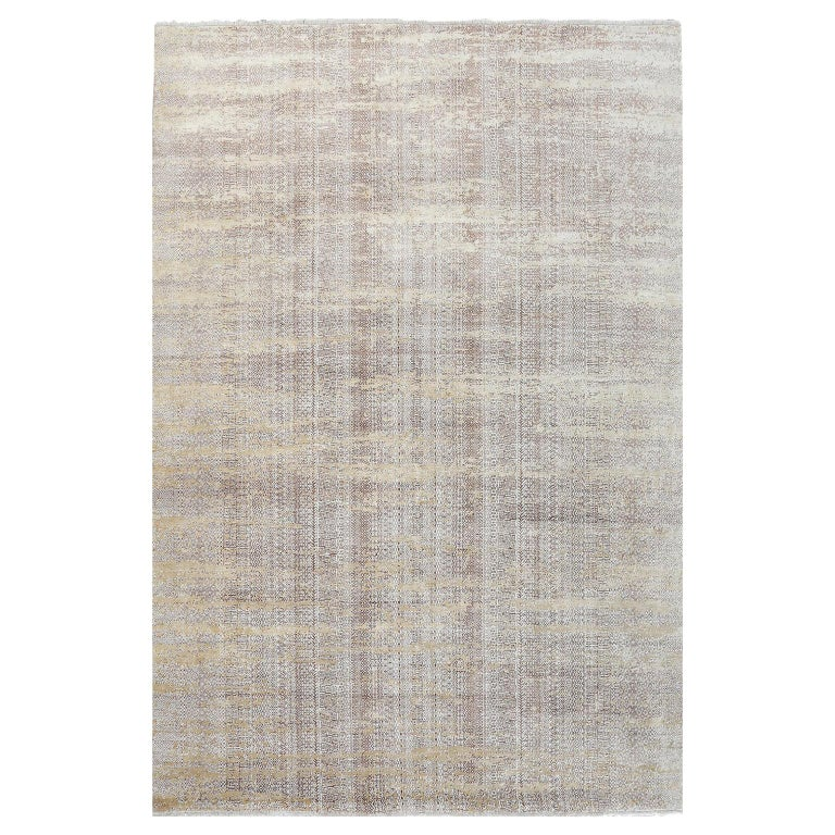 Schumacher Fujisan Area Rug in Hand-Knotted Wool by Patterson Flynn Martin For Sale