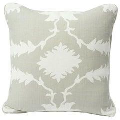 """Schumacher Garden of Persia 18"""" Pillow"""