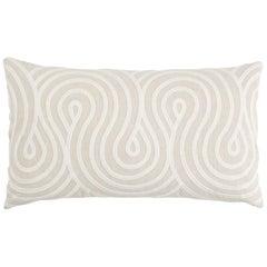Schumacher Giraldi Embroidery Pillow