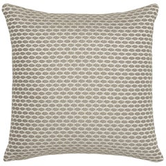 Schumacher Hickox Natural Indoor/Outdoor Two-Sided Pillow