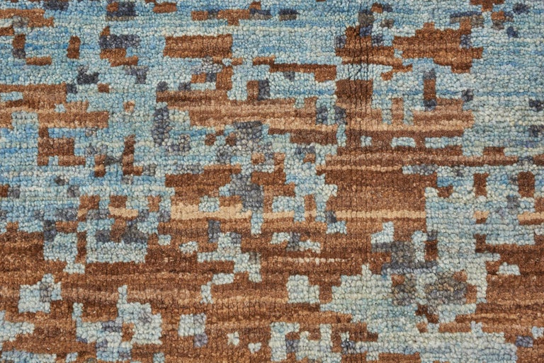 Pakistani Schumacher Karol Area Rug in Hand Knotted Wool Silk, Patterson Flynn Martin For Sale
