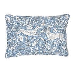 Schumacher Khan's Park Pillow