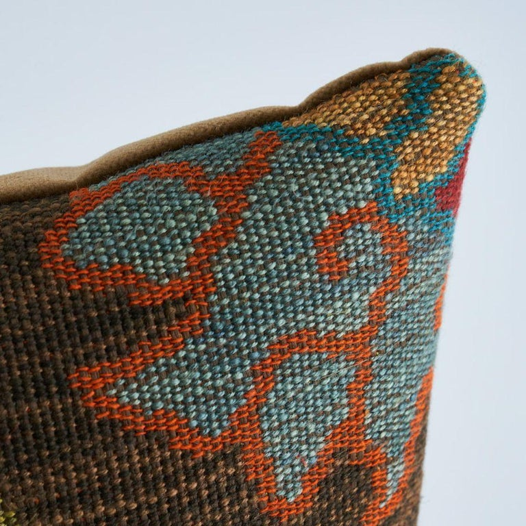 Schumacher Khotan Weave Pillow In New Condition For Sale In New York, NY