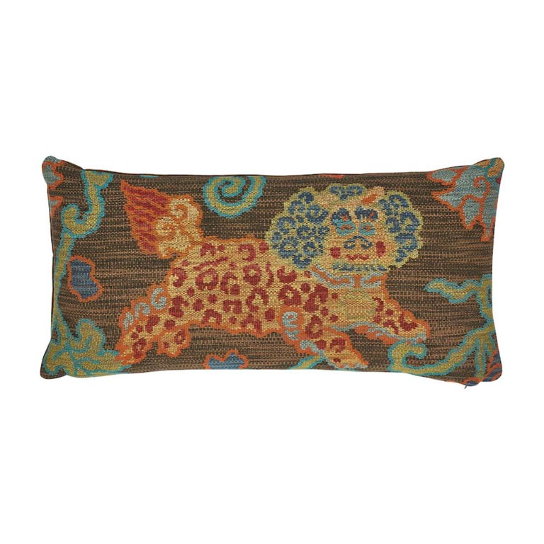 Schumacher Khotan Weave Pillow For Sale