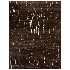 Schumacher Large Bark Rug in Hand-Knotted Wool by Patterson Flynn Martin