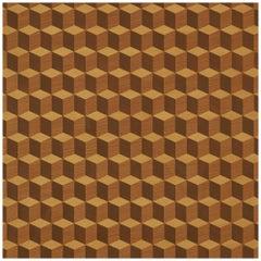 Schumacher Legno Wallpaper in Maple