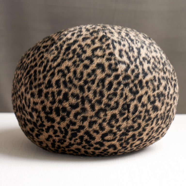 This pillow features Lilya Leopard with a knife edge finish. A sexy blend of baby alpaca and virgin wool gives this chic leopard pattern its soft, dreamy texture. It's a fabulous accent that adds a touch of exotic luxury to any setting. Pillow