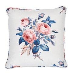 Schumacher Loudon Rose Pillow