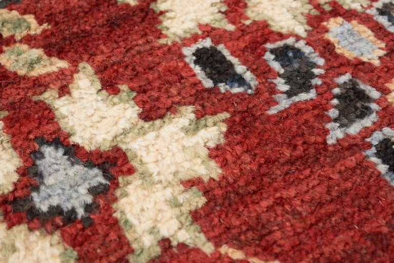Hand-Knotted Schumacher Meetra Area Rug in Hand Knotted Wool Silk, Patterson Flynn Martin For Sale